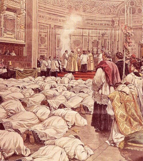 Ordenación sacerdotal en San Juan de Letrán
