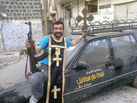 Musulmanes Quemando Cristianos Musulmanes Están Quemando