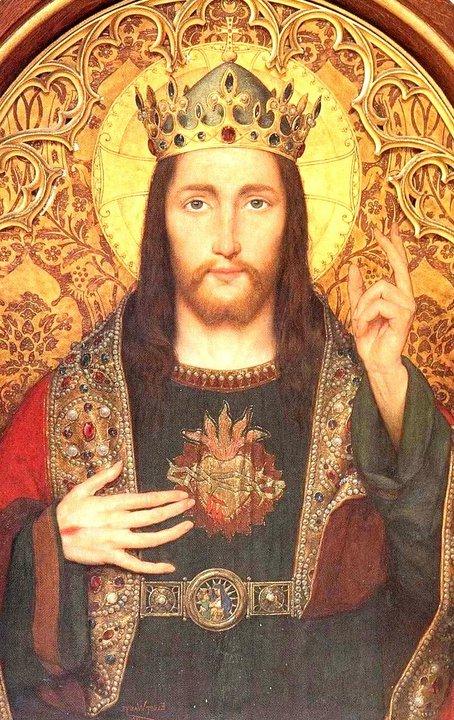 Resultado de imagen de Jesucristo Rey del Universo