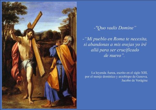 Resultado de imagen de Quo Vadis Domine