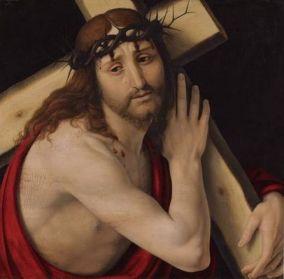 Cristo cargando con la cruz