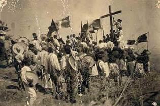 cristeros en procesion