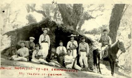Hospital en volcan de Colima