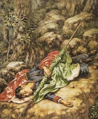 CADETE MUERTO EN 1847