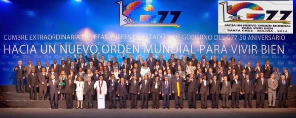 Nuevo Orden Mundial G77 NCSJB