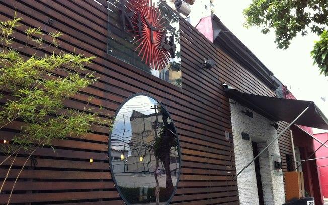 Kytai sushi fachada 2 for Fachadas de restaurantes modernos