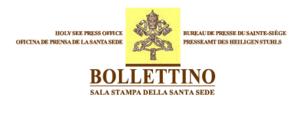Comunicato della Sala Stampa della Santa Sede  il Santo Padre Francesco a Lund  Svezia  per commemorare il 500° anniversario della Riforma